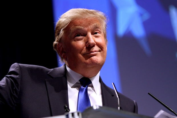 2016 presidential candidate Donald Trump